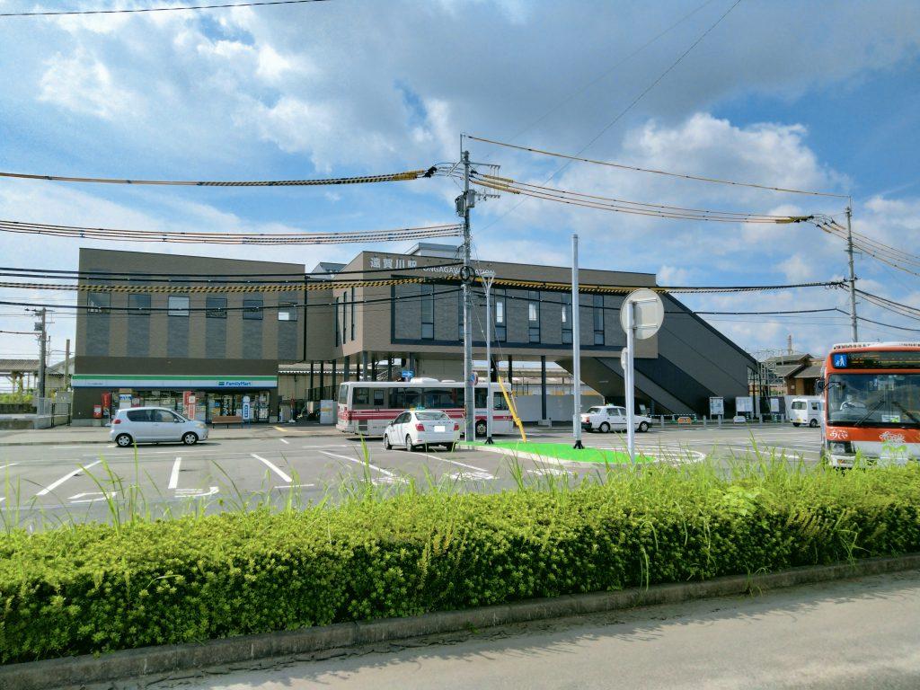 新しくなったJR遠賀川駅