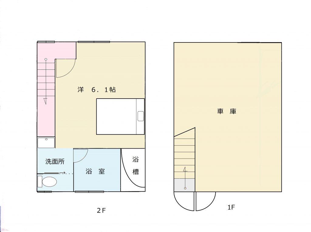 平面図  ※図面と現況に相違がある場合、現況を優先とします