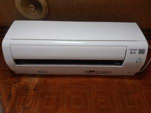 エアコン完備で1年通して快適ですが、窓を開けていると自然の空気もよく入ります